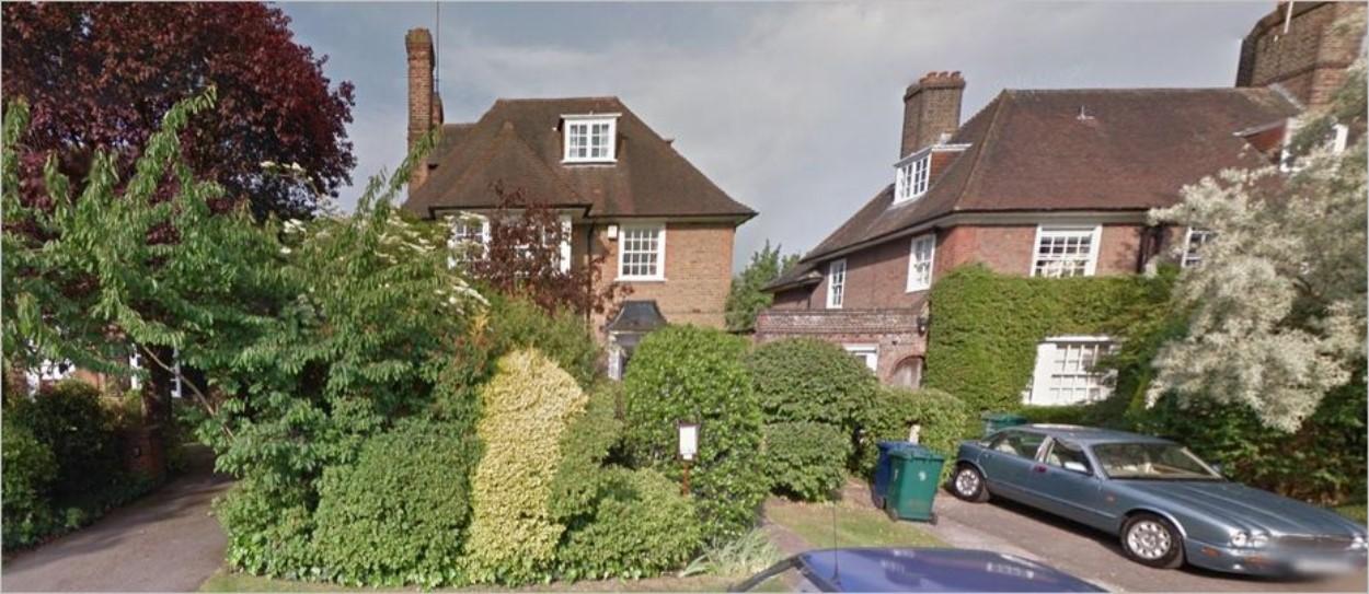 9, Heathgate, la maison qui a servi au tournage d'Harry Potter