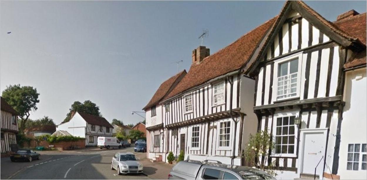 Church Street à Lavenham