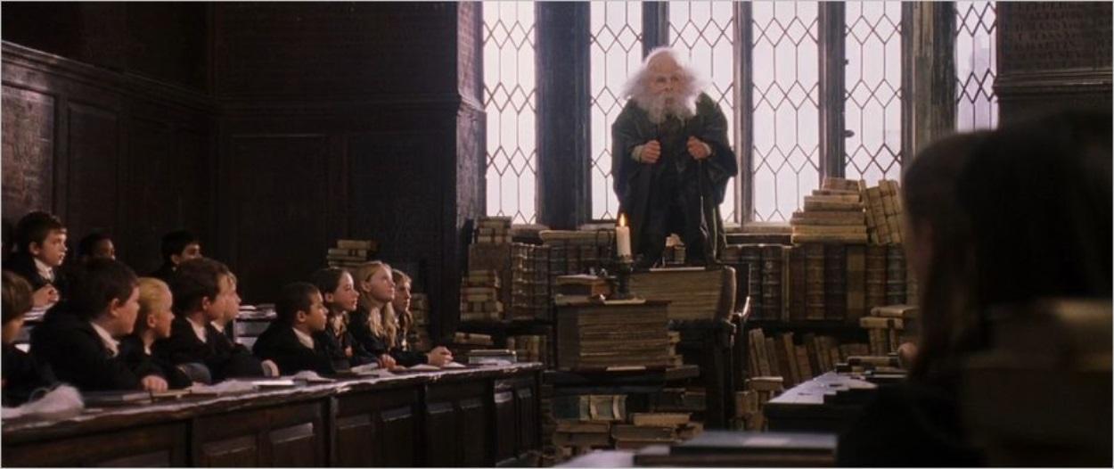 La classe du professeur Flitwick
