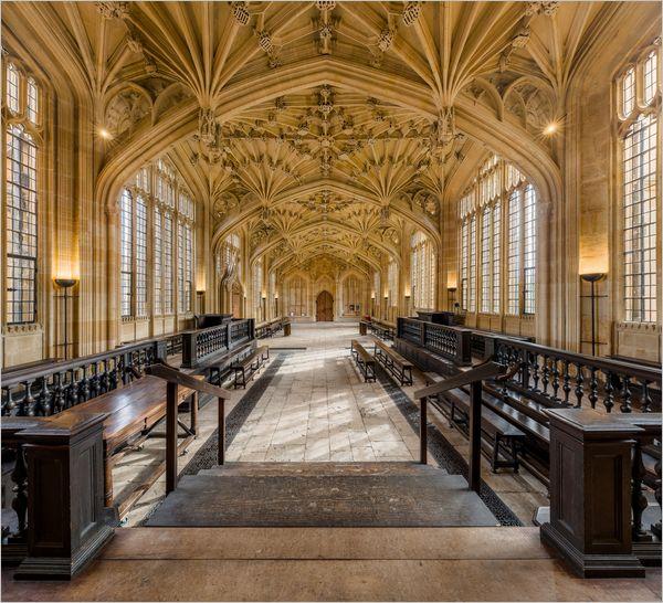 La Divinity Room à Oxford