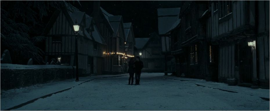 Harry et Hermione à Godric's Hollow