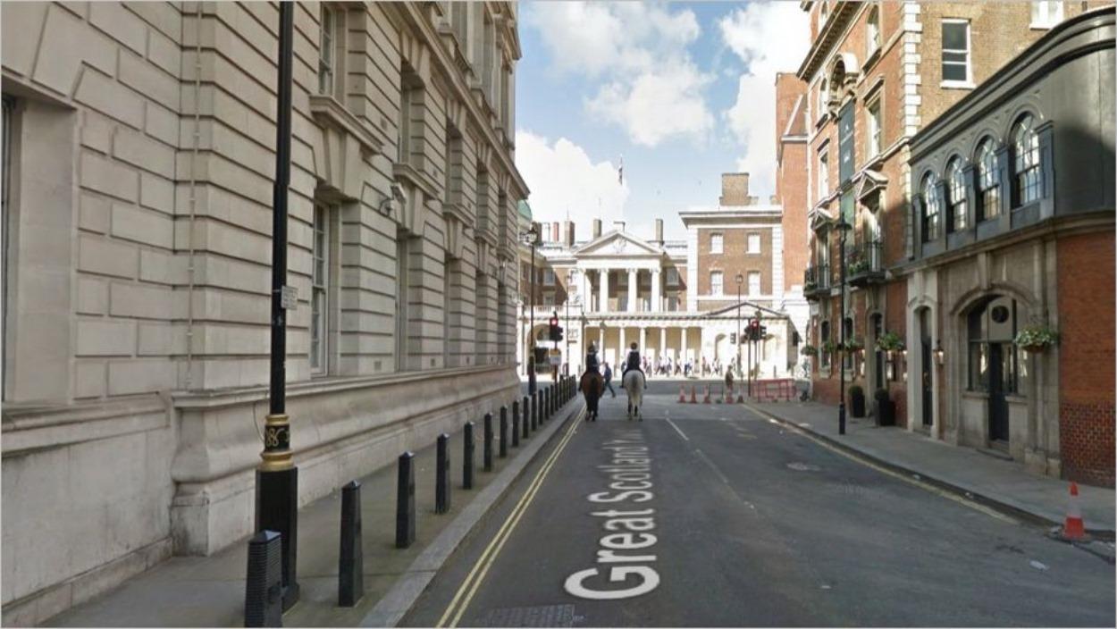 Great Scotland Yard à Londres