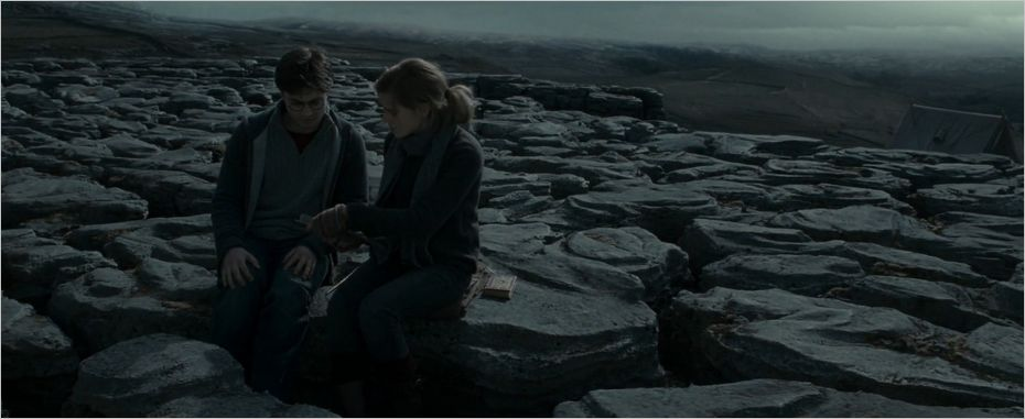 Harry et Hermione à Malham Cove