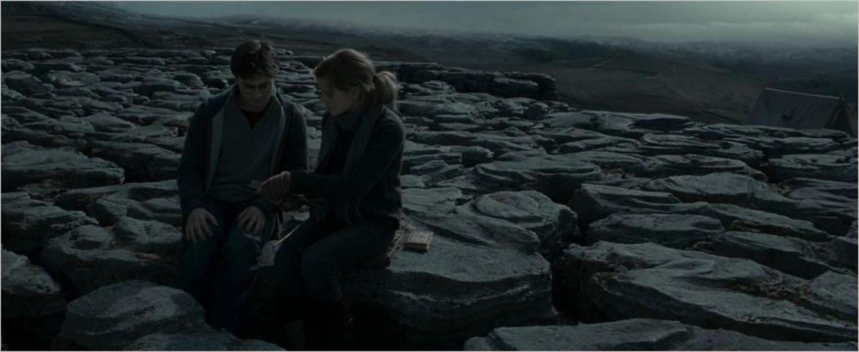 Harry et Hermione à Malham Cove