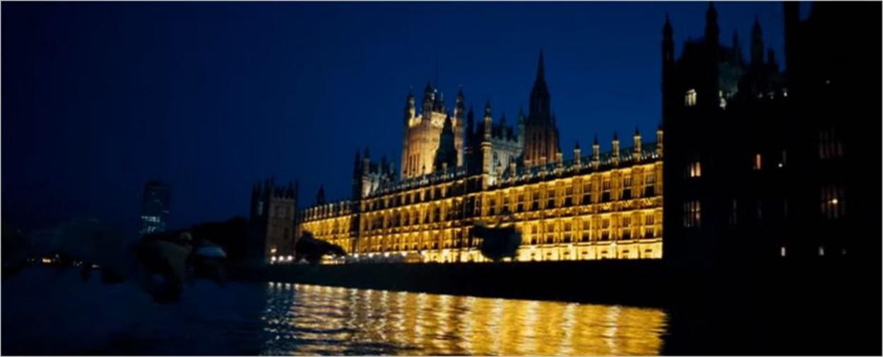 Les Houses of Parliament dans Harry Potter