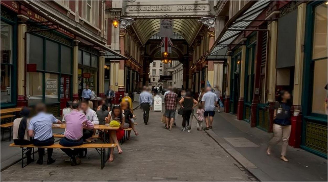 Le Leadenhall Market à Londres