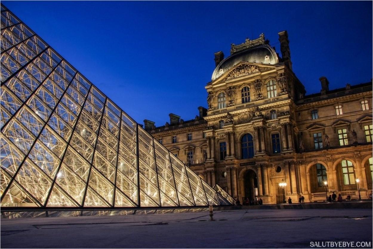 Le pavillon Richelieu du Louvre