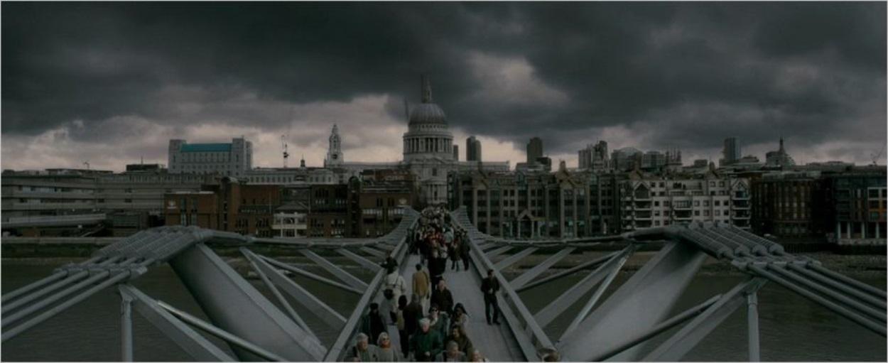 Le Millenium Bridge dans Harry Potter