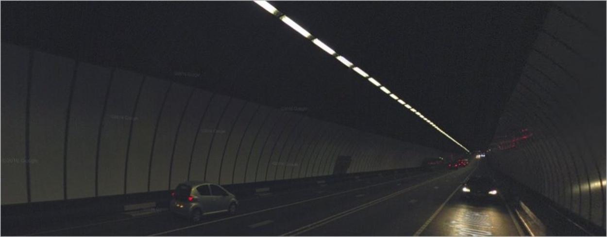 Le Queensway Tunnel en vrai