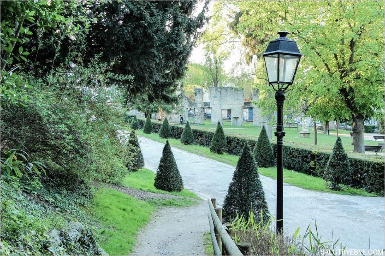 Le Parc de l'Abbaye à Saint Maur des Fossés