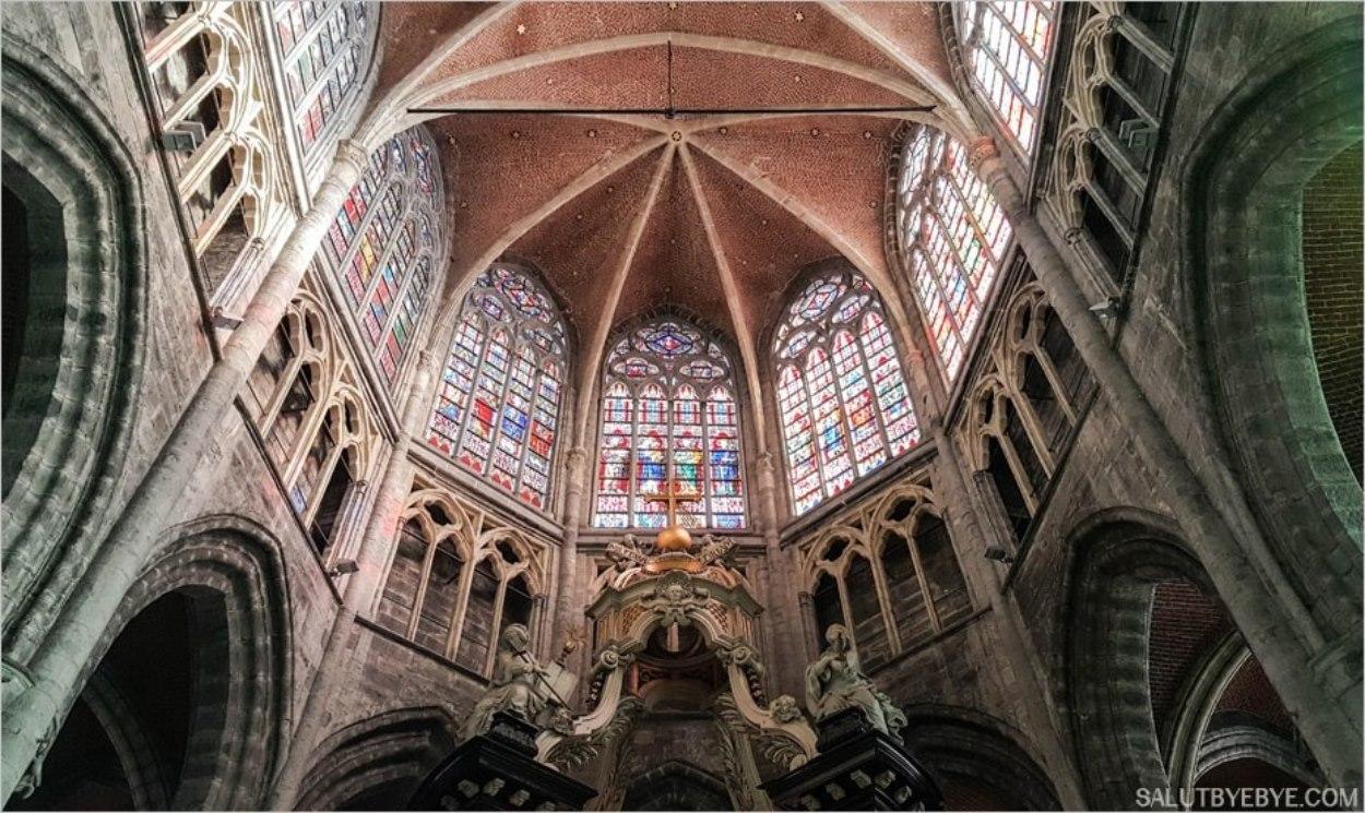 La cathédrale Saint Bavon de Gand