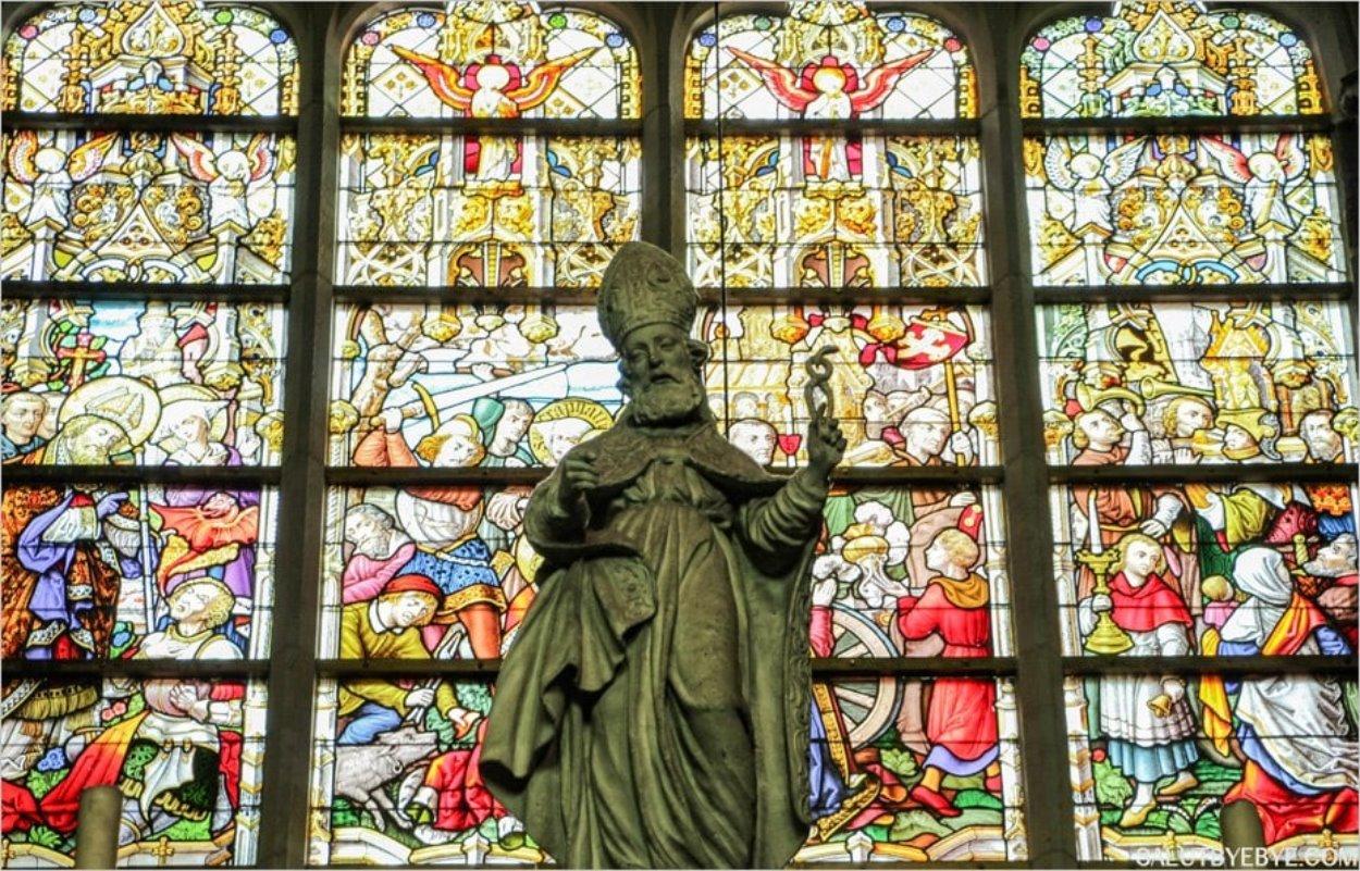 Vitraux de la cathédrale Saint Bavon