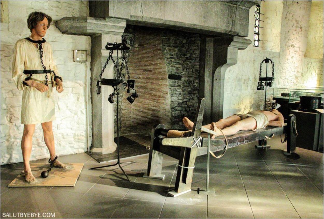 Le musée de la torture à Gravensteen
