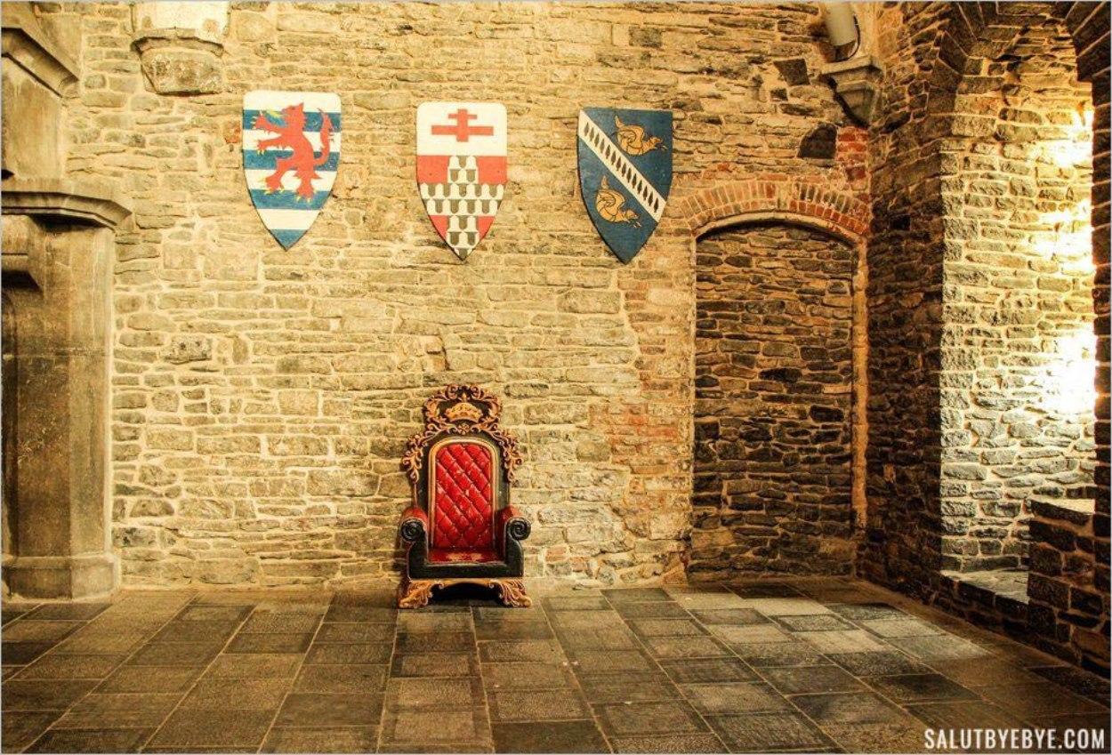 Dans le château de Gravensteen...