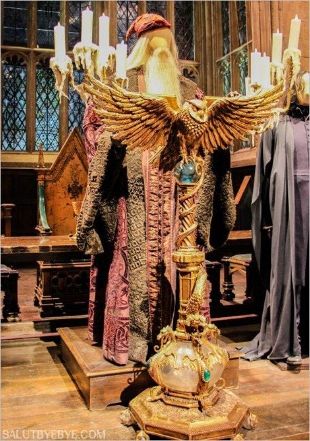 Le costume de Dumbledore