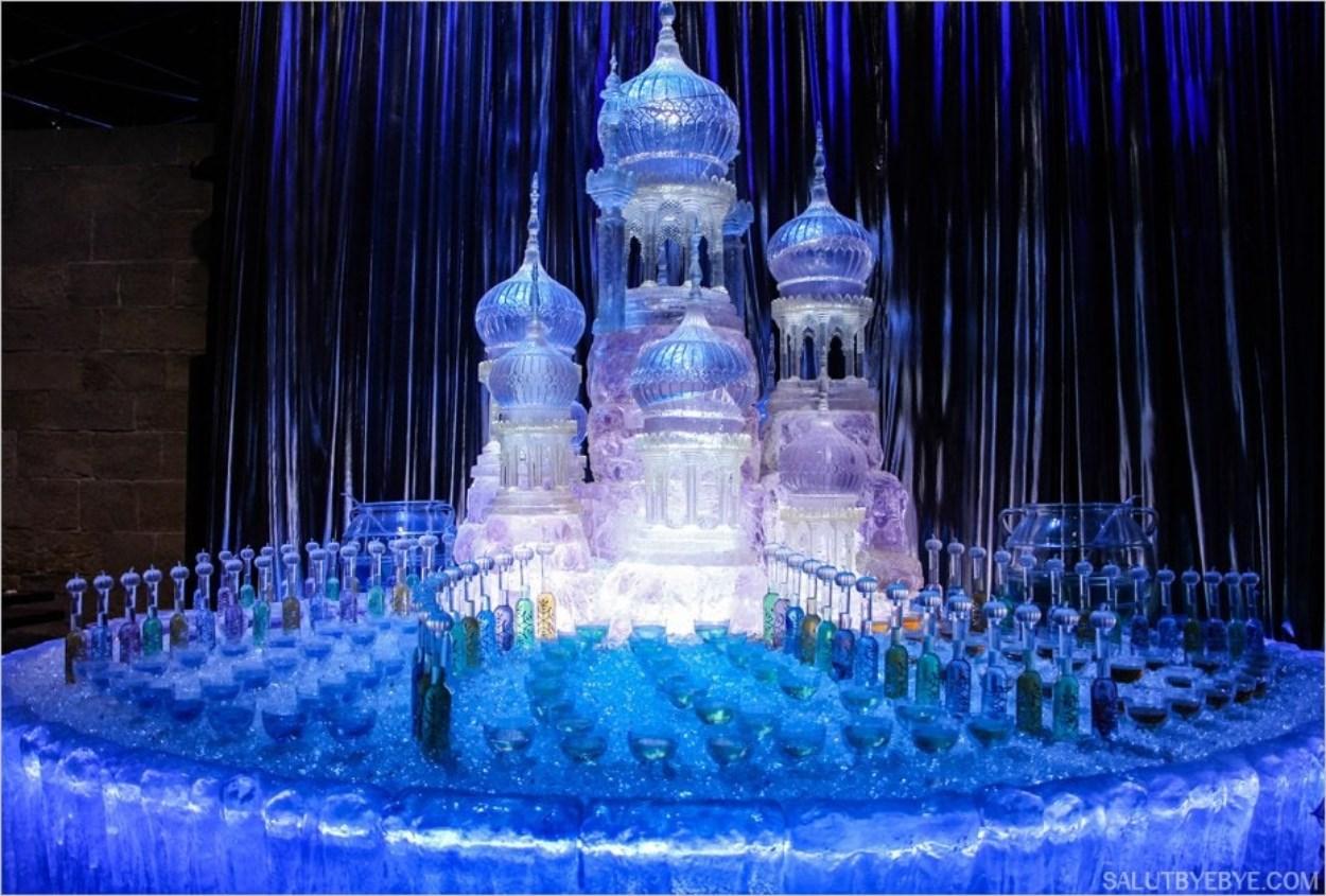 Le décor du bal de Noël dans Harry Potter