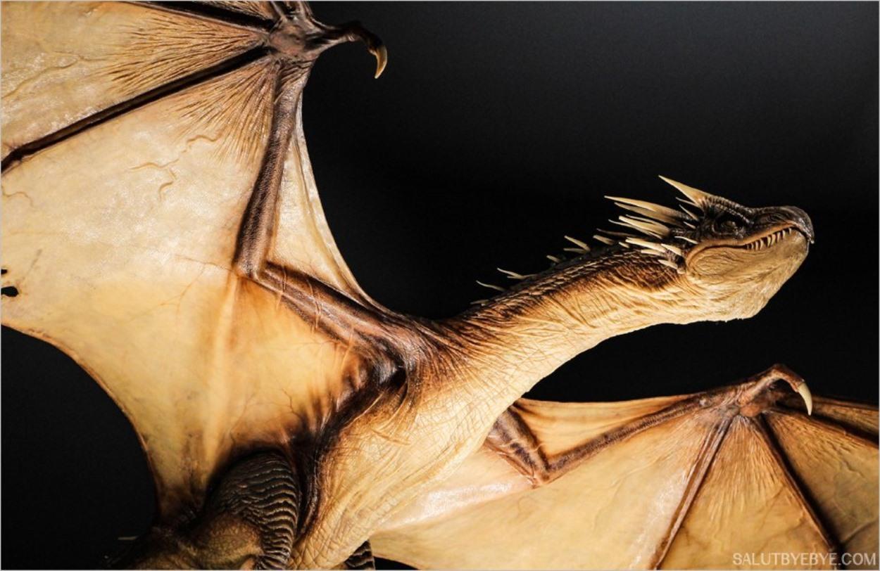 Un dragon - Harry Potter Studio Tour Londres