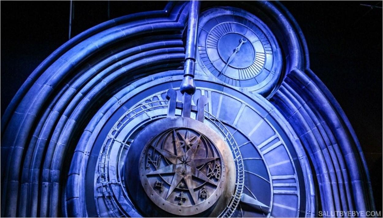 Horloge de Poudlard - Harry Potter Studio Tour Londres