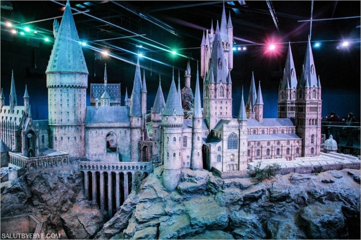 Maquette de Poudlard - Studios Harry Potter