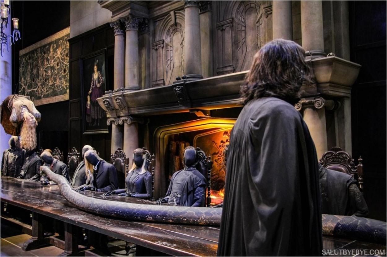 Mort de Charity Burbage - Studios Harry Potter