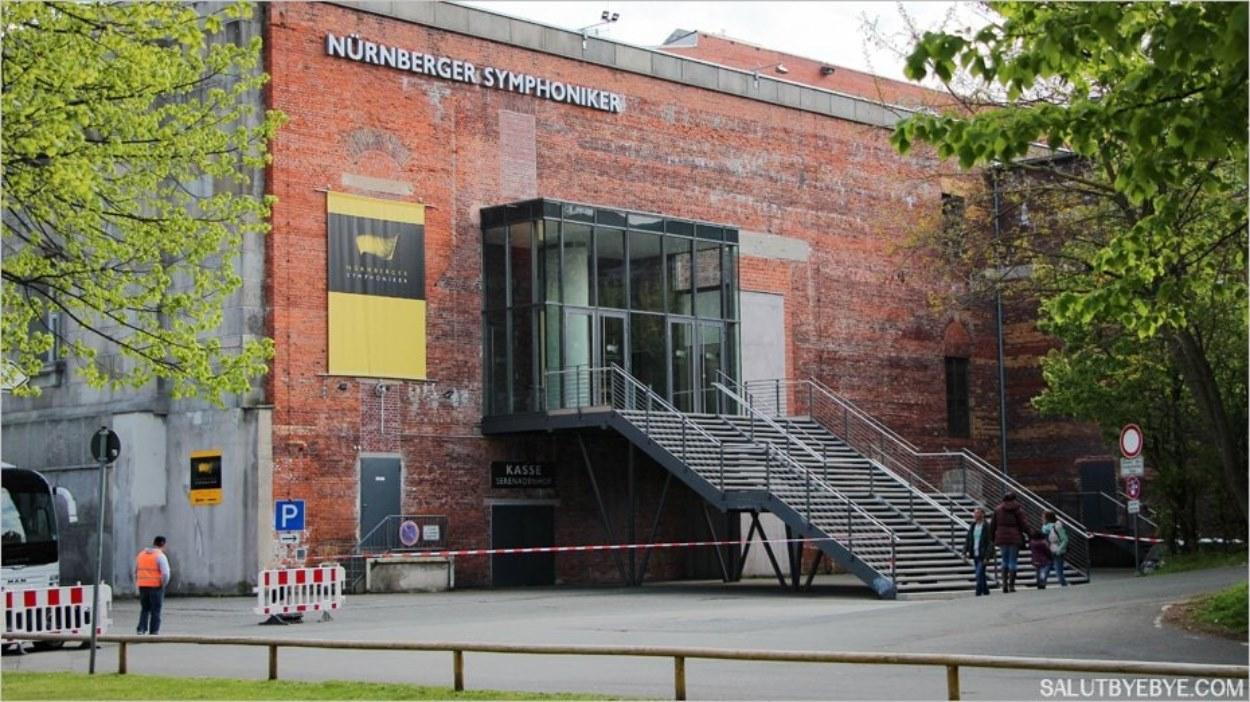 La Nürnberger Symphoniker, salle symphonique de Nuremberg
