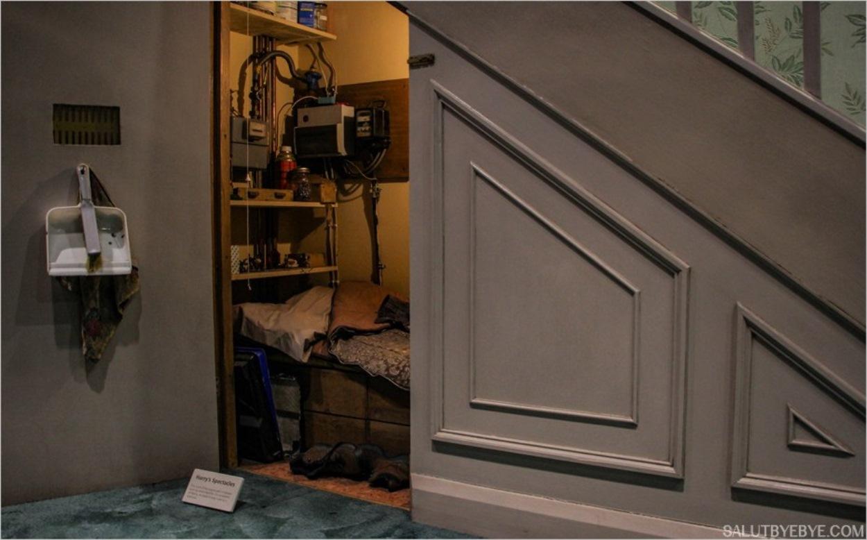 Le placard sous l'escalier - Harry Potter Studio Tour Londres