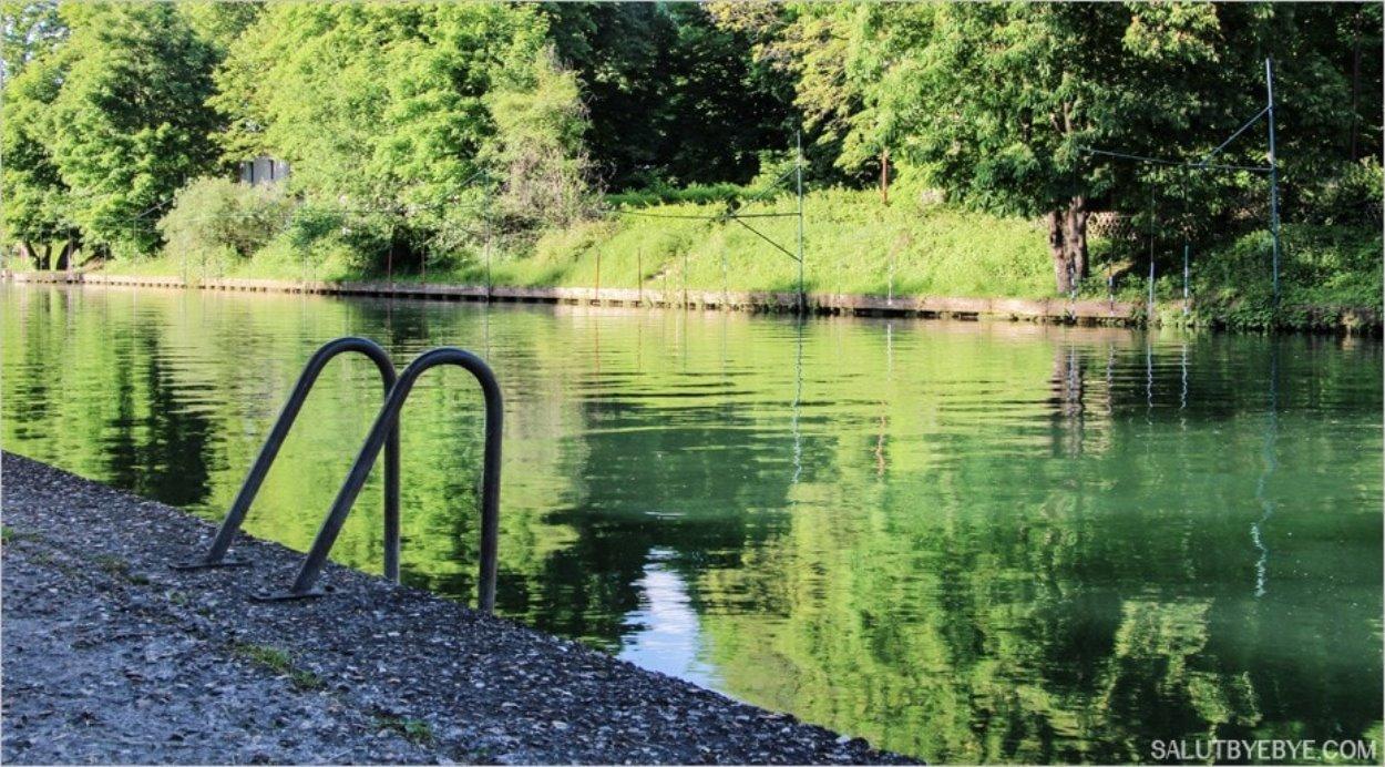 Au bord de la Marne... une envie de baignade !