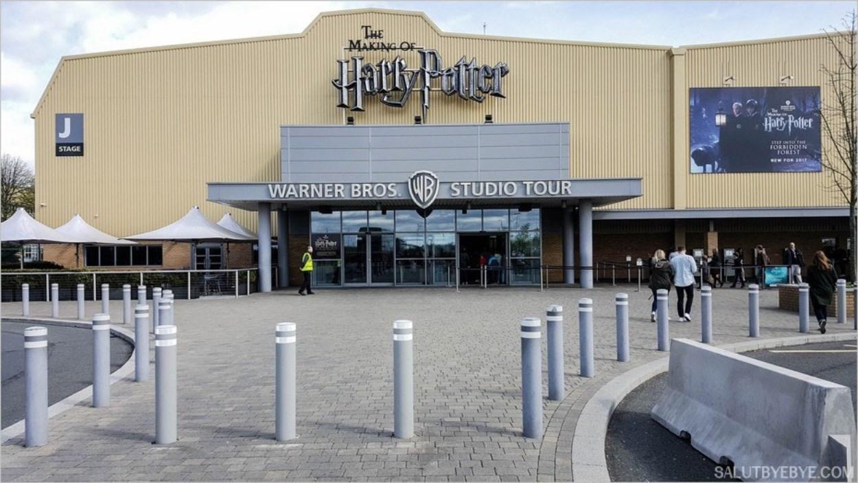 L'entrée du studio Harry Potter