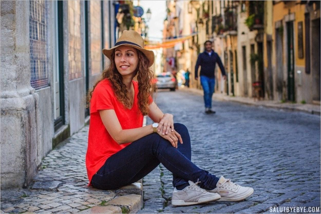 Portrait à Lisbonne
