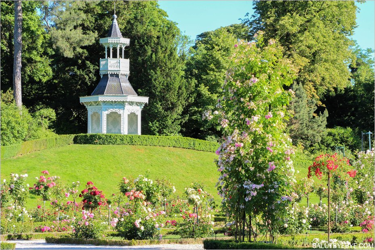 Une journ e au parc de bagatelle paris de la roseraie for Bagatelle jardin paris