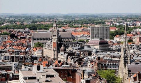 Visite du beffroi de Lille : le Nord vu d'en-haut