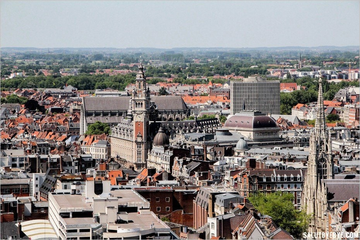 Visite du beffroi de Lille : la Chambre de Commerce et l'église Saint-Maurice