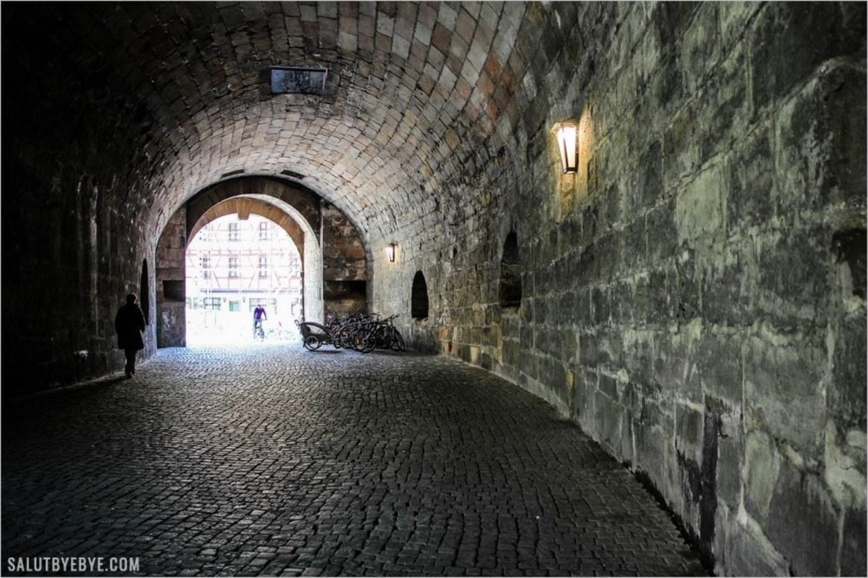 Les remparts médiévaux de Nuremberg