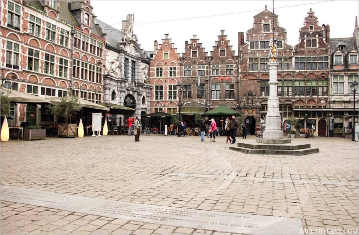 La Sint-Veerleplein à Gand