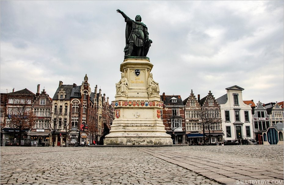 La statue de Jacob van Artevelde