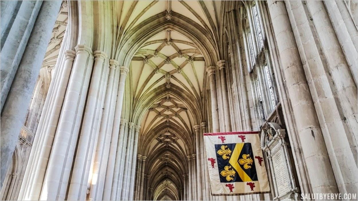 Cathédrale de Winchester, un lieu clé pour Guillaume le Conquérant