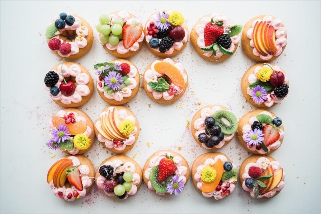 Appétissants donuts immortalisés par Brooke Lark