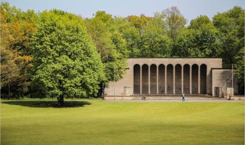 Le Reichsparteitagsgelände à Nuremberg, terrain des congrès nazis