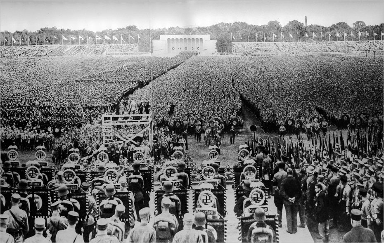 La Luitpoldarena pendant un congrès du parti nazi