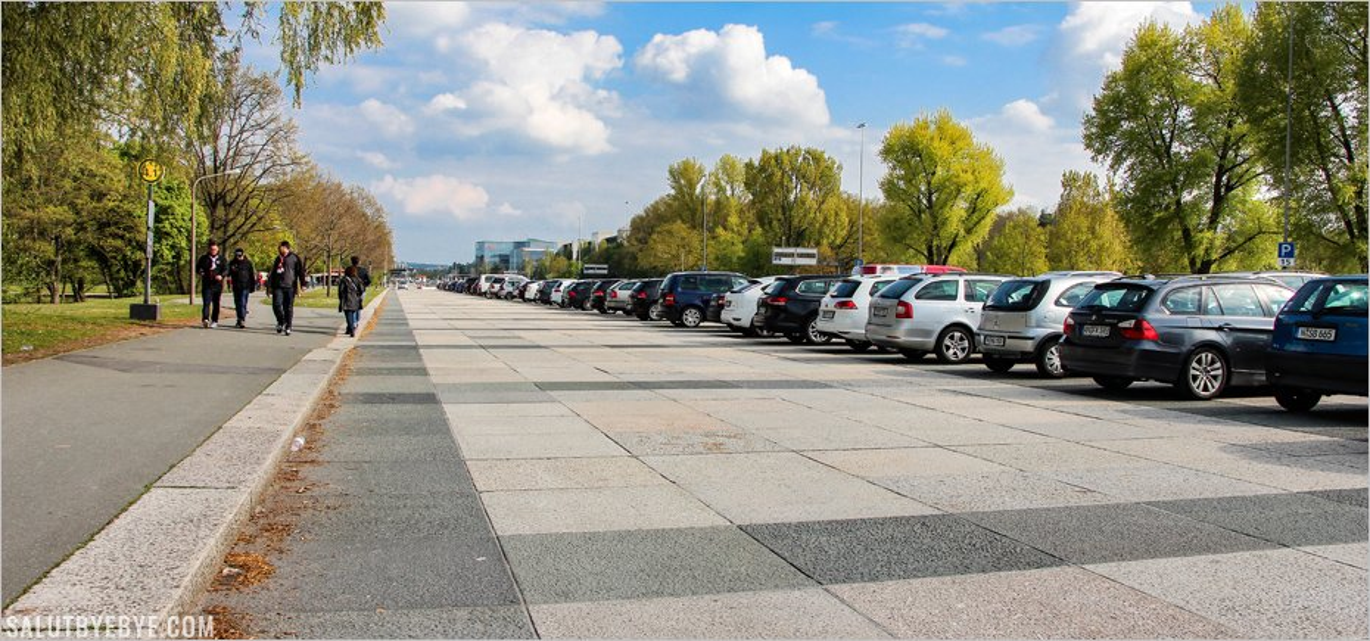 La Große Straße de Nuremberg