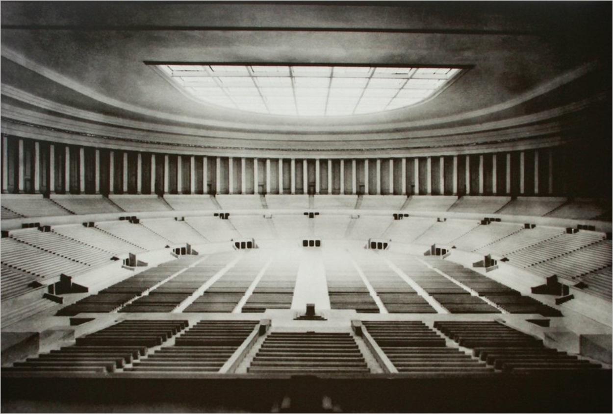 Le Kongresshalle imaginé par les nazis
