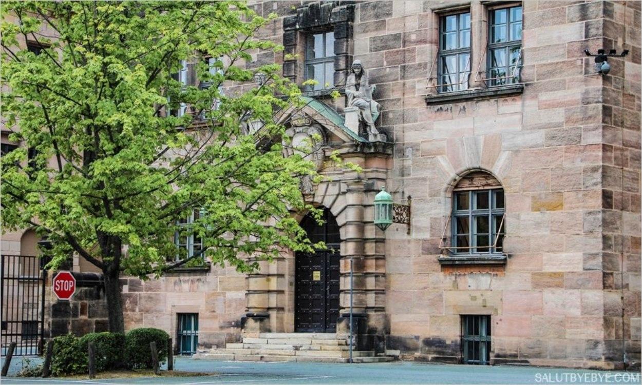 Le Palais de Justice de Nuremberg sur Fürther Straße
