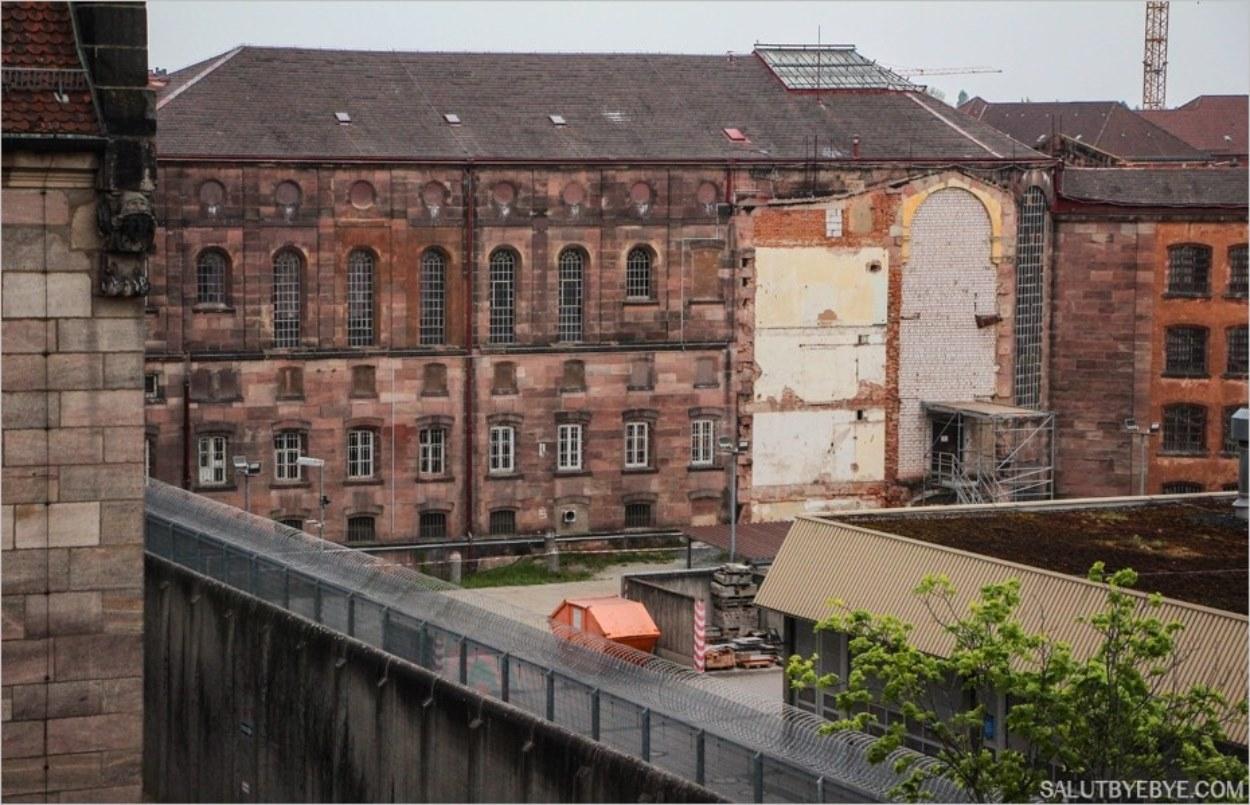 La prison en étoile à Nuremberg