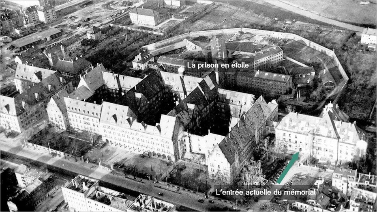 Le Palais de Justice et la prison de Nuremberg à l'époque