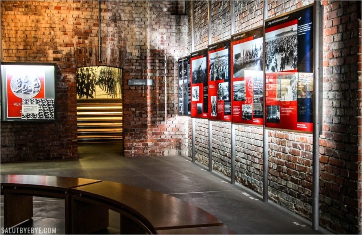 Une salle du Centre de Documentation de Nuremberg