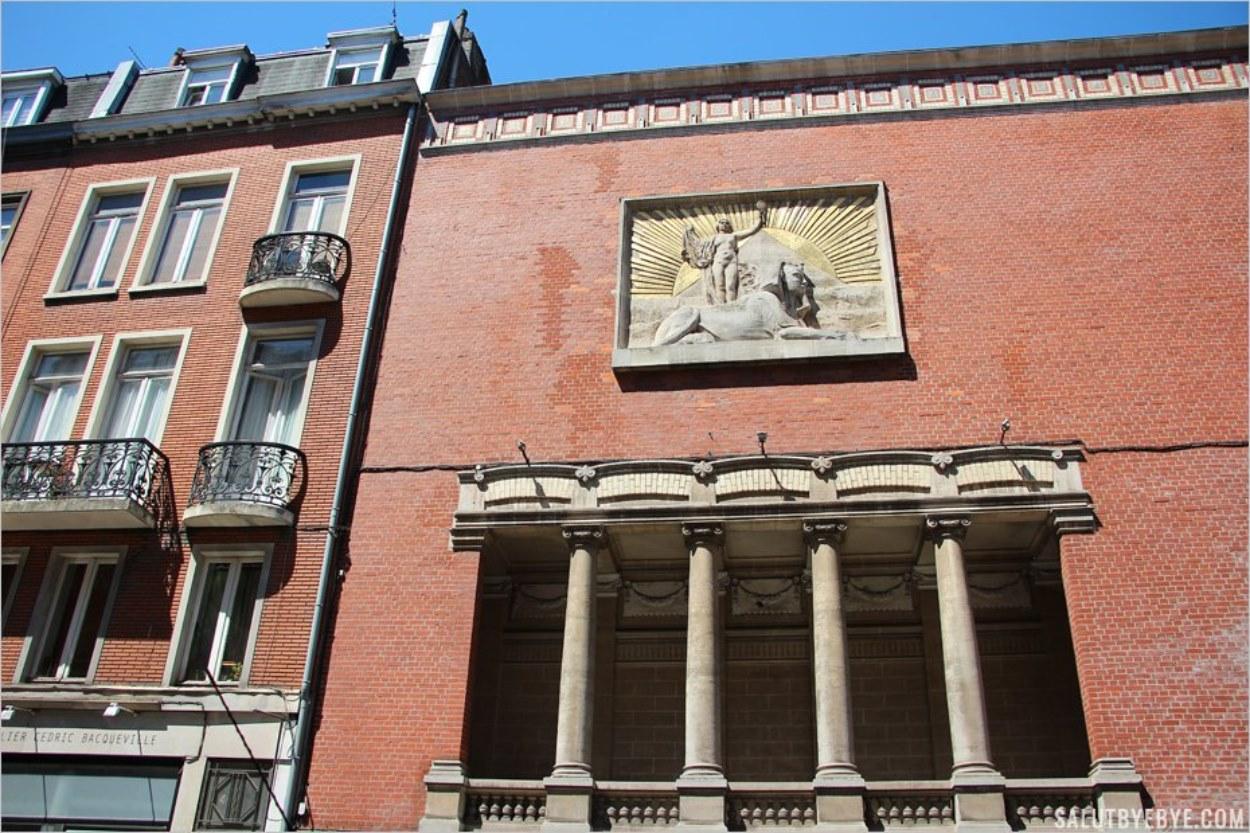 Un temple franc-maçon au coeur de Lille