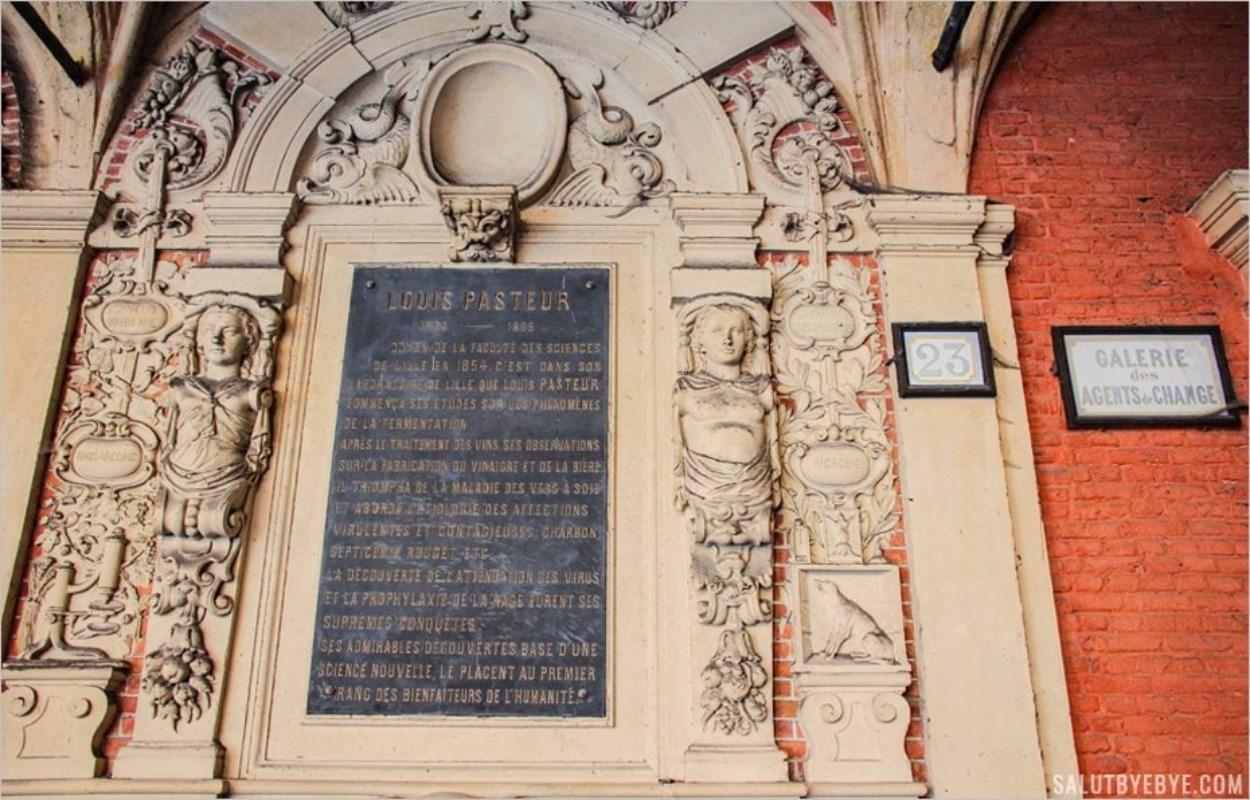 Un tableau en hommage à Pasteur