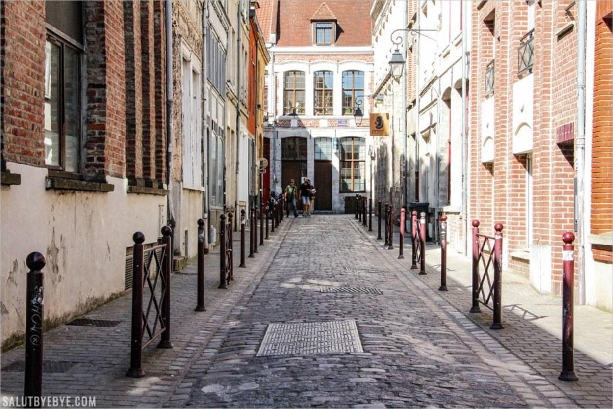 Balade dans les rues du Vieux Lille