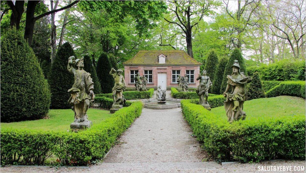 Le petit Barockgarten, trouvaille insolite à Nuremberg