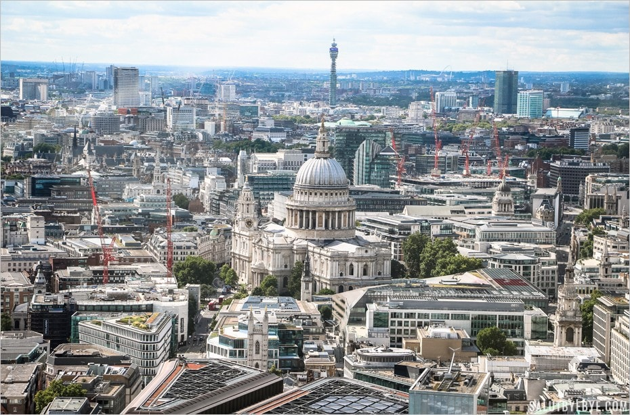 Le SkyGarden, un jardin et une vue de Londres à couper le souffle